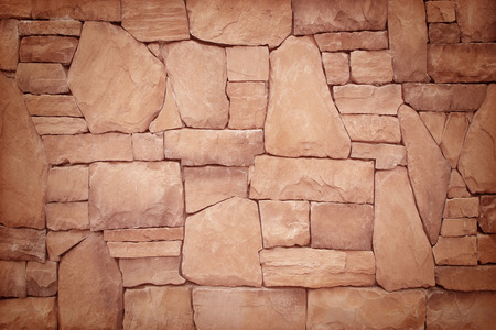 Pattern of old stone Wall Surfaced photo