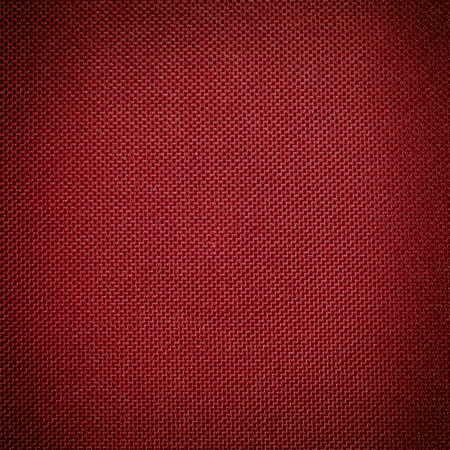 red nylon fabric texture background