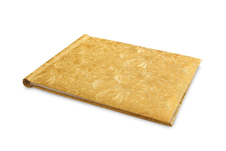 line lines luxury meeting: gold note book