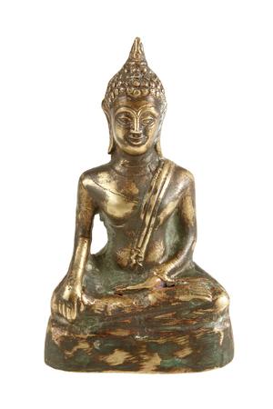 Buddha Statue, Isolated, white background