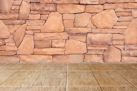 floor and stone wall and floor photo