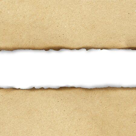 burned paper: Vintage burned paper background, center part isolated
