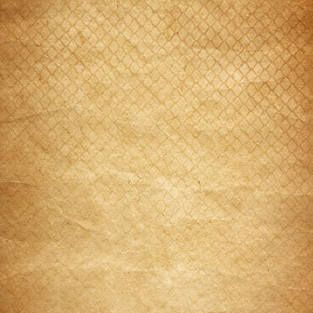 grid pattern: old paper as grunge background with abstract grid pattern texture Stock Photo