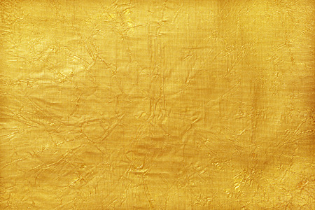 gold background: Shiny yellow leaf gold foil texture background