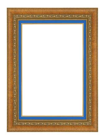 cadre antique: cadre antique isol� sur fond blanc Banque d'images