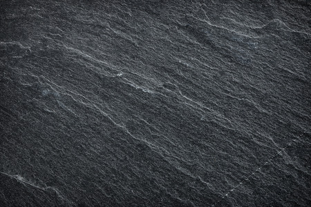 Dark grey / black slate background or texture. Stock Photo - 38445911