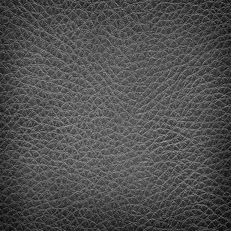 black leather texture: Old black leather texture Stock Photo