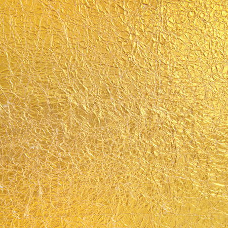 rough paper: Gold Paper wrinkled background