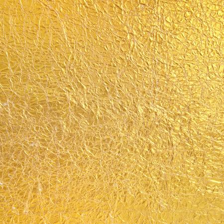 Gold Papier zerknittert Hintergrund Standard-Bild - 38806096