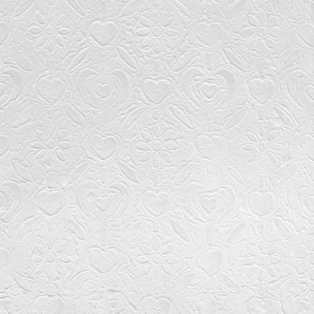 reciclaje papel: Libro Blanco con el patrón decorativo para el fondo