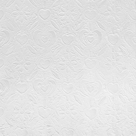 textured paper: White paper with decorative pattern for background