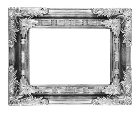 cadre antique: Le cadre antique sur le fond blanc