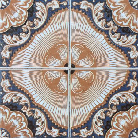 spanish homes: vintage ceramic tiles wall decoration