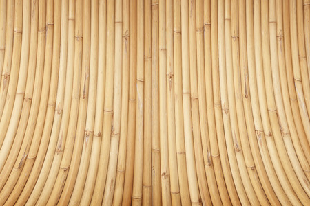 stoop: bamboo wall background Stock Photo