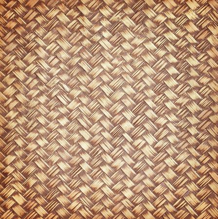 waterproofing material: Bamboo weave texture with enamel waterproofing Stock Photo