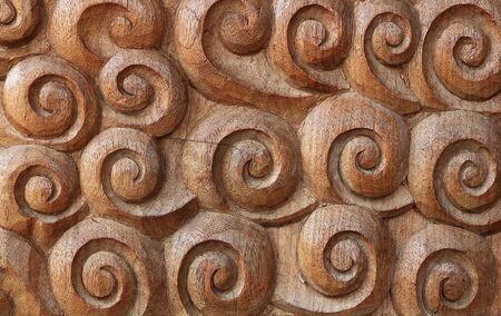 wood carvings: Wood Thai pattern Handmade wood carvings