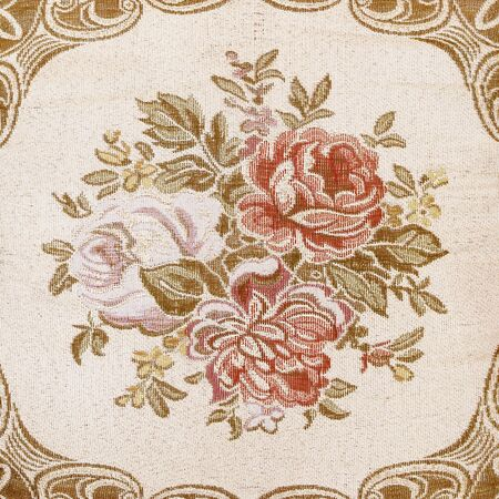sateen: Rose fabric background