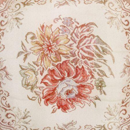 stylishness: floral fabric background