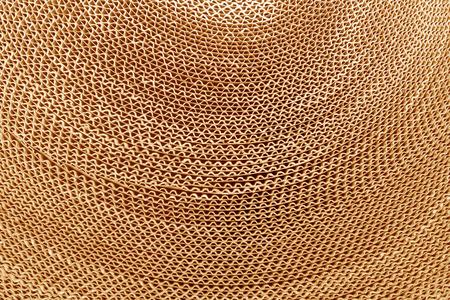 corrugated cardboard: Corrugated cardboard abstract background