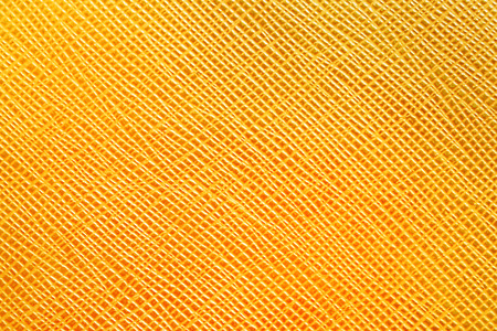 Yellow seamless Artificial leather background