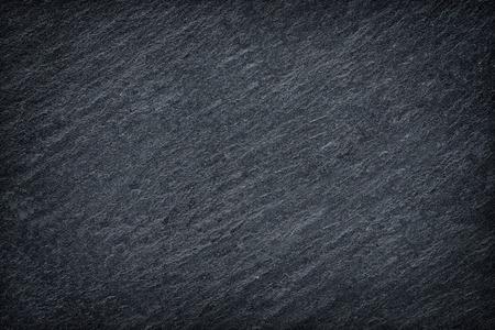 어두운 회색 슬레이트 배경 또는 질감입니다. 스톡 콘텐츠