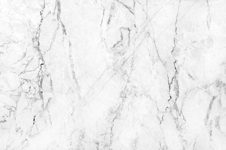 seamless tile: White marble texture abstract background pattern with high resolution. Stock Photo
