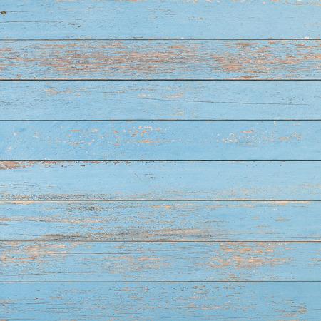 blue shabby wooden planks background texture Фото со стока
