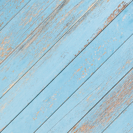 blue shabby wooden planks background texture Stock Photo