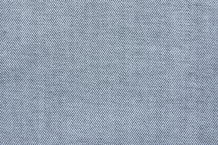 close out: Close up texture of blue jean or denim fabric inside out Stock Photo