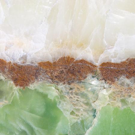 エメラルド色の大理石天然石ならではの質感 写真素材