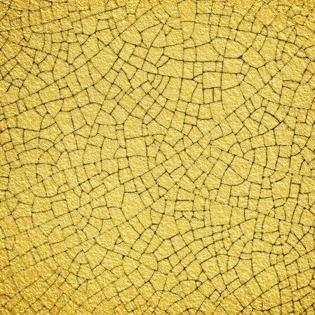 multiplicar: pared de oro con el crack textura multiplicar el efecto para el fondo