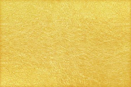 Glänzendes gelbes Blatt Goldfolie Textur Hintergrund Standard-Bild - 50552732