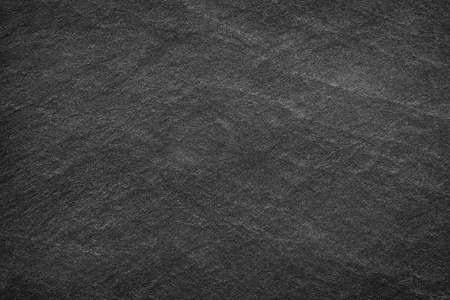 black empty board: Dark grey black slate background or texture.