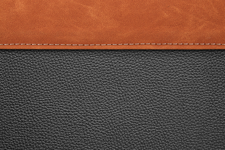 stitched leather background gray and brown colors