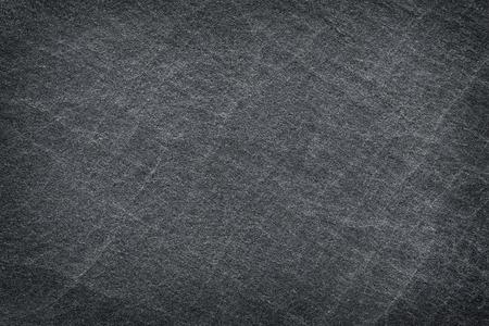 black empty board: black slate background or texture Stock Photo