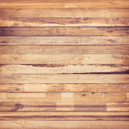 Vintage stained wooden wall , Wood plank brown background texture