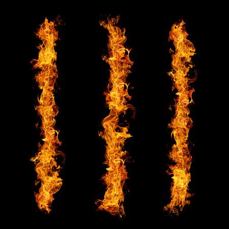 flametongue: Fire flames Stock Photo