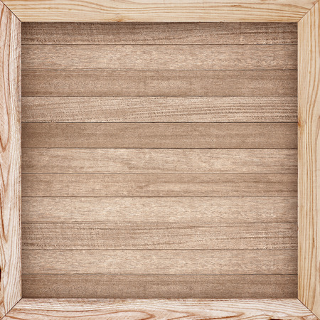 Wooden wall texture, wood frame background