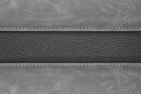 gestikte lederen achtergrond grijze donkere kleur achtergrond