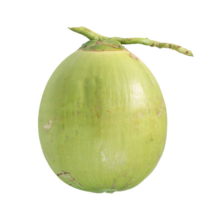 the freshness: freshness coconut isolated white Stock Photo