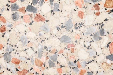 Terrazzo vloer textuur achtergrond Stockfoto