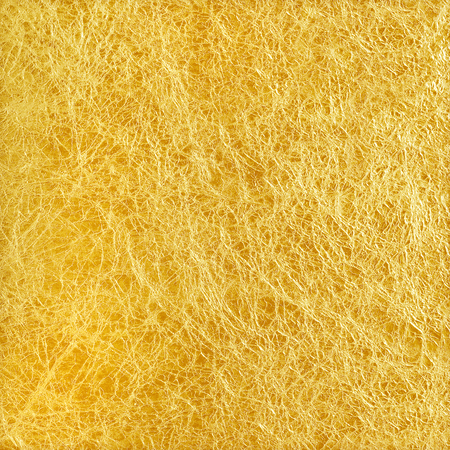 shiny gold: Shiny yellow leaf gold foil texture background