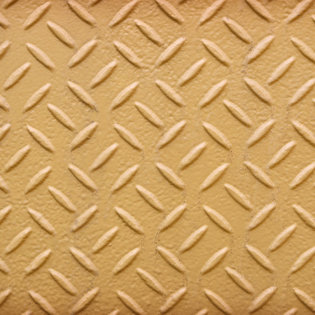 diamond plate: Yellow metal diamond plate pattern background.