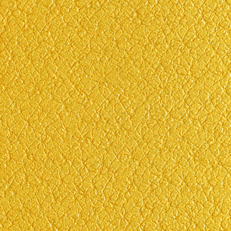 leatherette: Yellow gold leatherette texture as background art