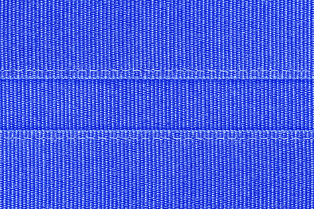 seam: blue fabric with seam background