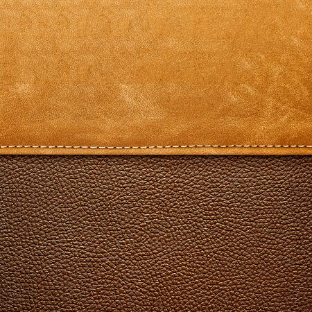 stitched: stitched brown leather background