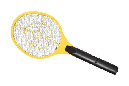 fumigador: mosquitos asesino electrónico aislado en el fondo blanco