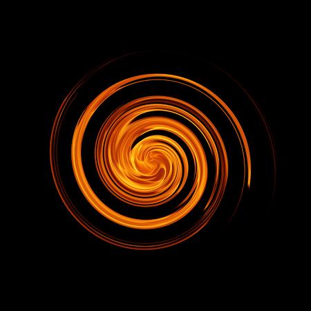 resplandor: Giro movimiento de fuego llama resumen de antecedentes