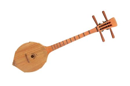 thai musical instrument: Thai musical instruments. Lanna ancient sing-song Stock Photo