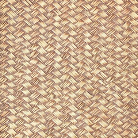 waterproofing material: Bamboo weave with enamel waterproofing Stock Photo